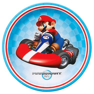 Mario Kart Wii Dinner Plates
