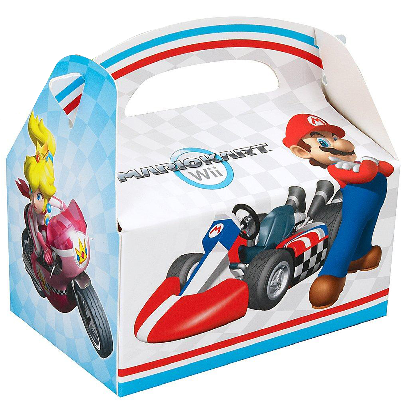 Mario Kart Wii Party in a Box For 8 – Mario Kart Party Invitations