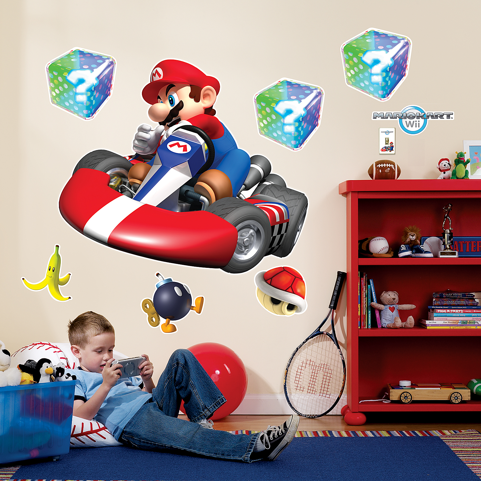 Wonderful Default Image   Mario Kart Wii Giant Wall Decals