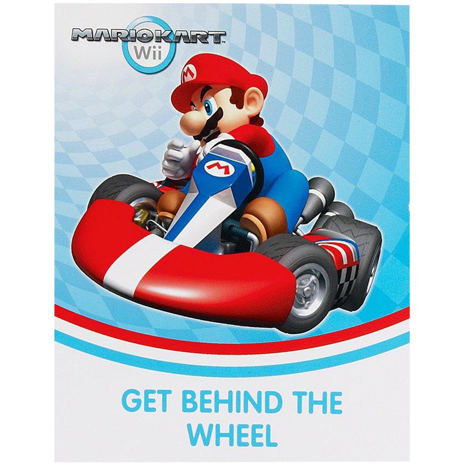 Mario Kart Wii Invitations – Mario Kart Party Invitations