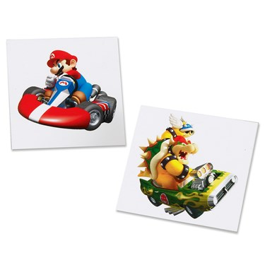 Mario Kart Wii Tattoos