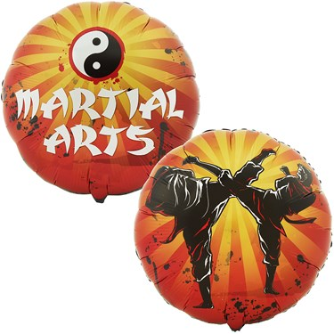 Martial Arts Foil Balloon