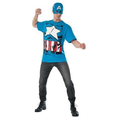 Marvel - Classic Captain America Costume Kit