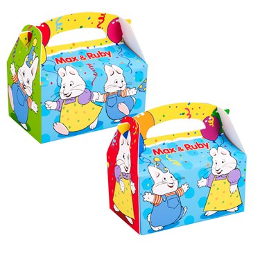 Max & Ruby Empty Favor Boxes