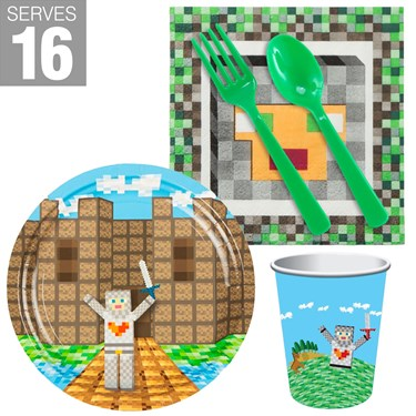 Medieval Pixels Snack Pack For 16