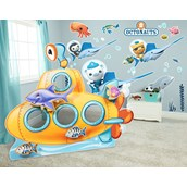 Sea Life Giant Wall Decals and Stand-In Kit