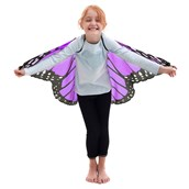 Purple and Pink Butterfly Wings