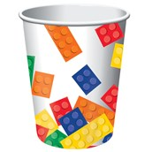 Building Block Party 9 oz. Paper Cups