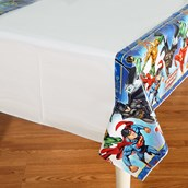 Justice League Plastic Tablecover