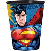 Superman 16 oz. Plastic Cup