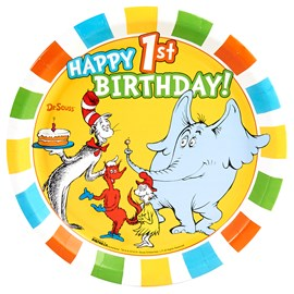 Dr. Seuss 1st Birthday)