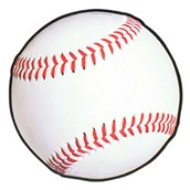 "13 1/2"" Baseball Cutout"