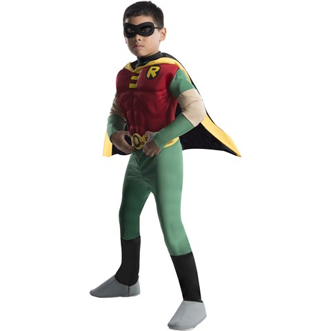 Teen Titans Deluxe Muscle Chest Robin Toddler / Child Costume