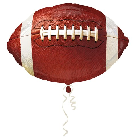 Football Foil Balloon