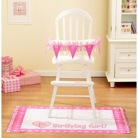 One Special Girl High Chair Decorating Kit