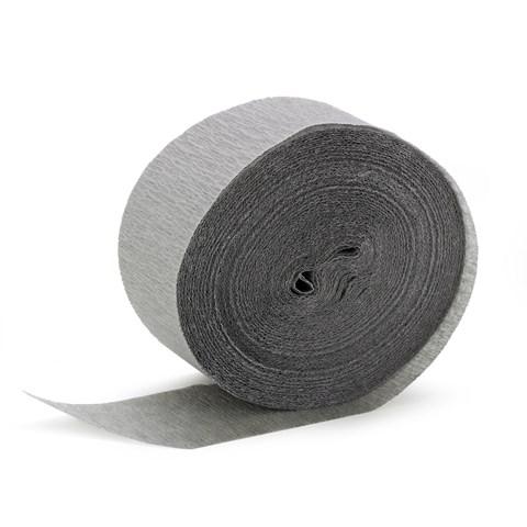 Dove Grey (Silver) Crepe Paper