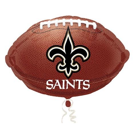 New Orleans Saints Foil Balloon