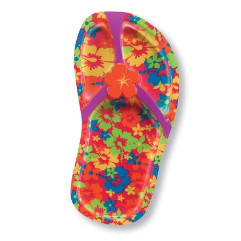 "Flip Flop 11"" Plastic Tray"
