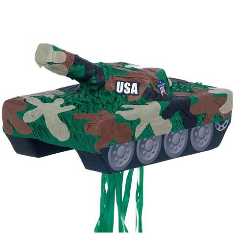 Tank Pull-String Pinata