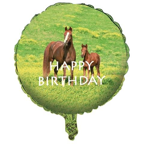 Wild Horses Foil Balloon