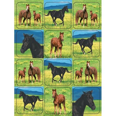 Wild Horses Stickers