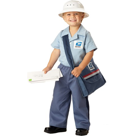Mr. Postman Toddler Costume