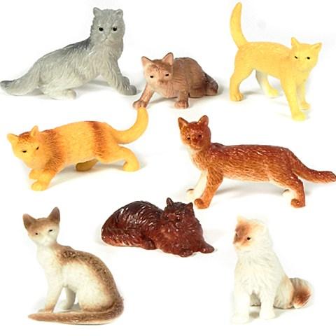 Mini Cat Figurines Assorted