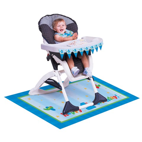 Fun at One - Boy High Chair Decorating Kit