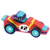 3D Race Car Erasers Assorted