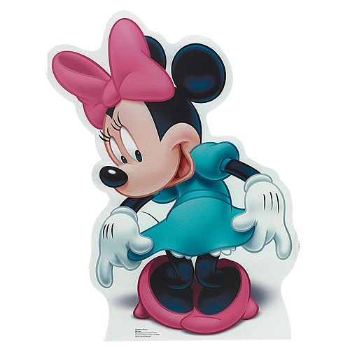 Disney Minnie Mouse Cardboard Cut Out - 3' Tall