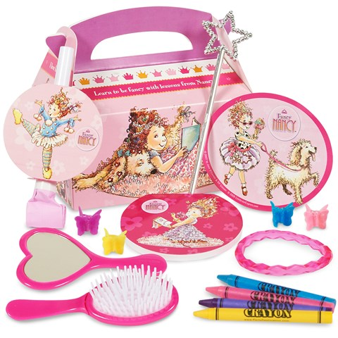 Fancy Nancy Filled Party Favor Box