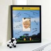 John Deere Framed Signature Matte