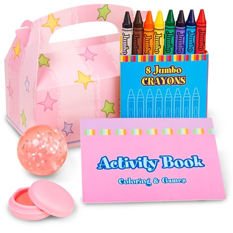Pastel Stars Party Favor Box