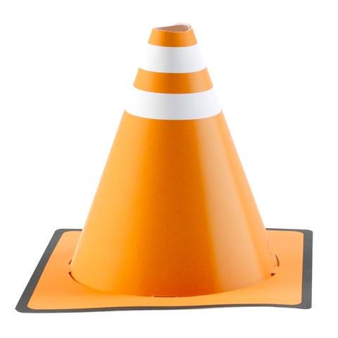 Construction Pals Cone Hats