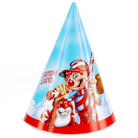 Candy Land Cone Hats