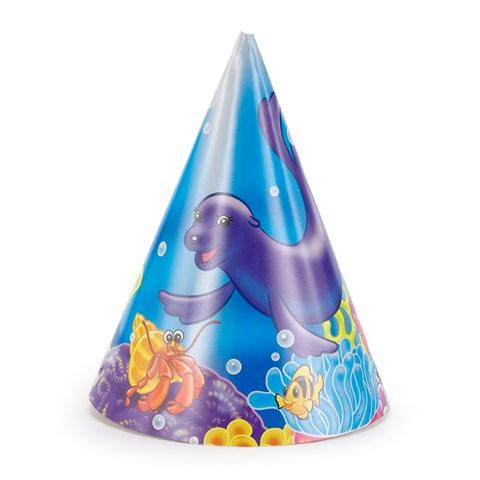Sea Life Cone Hats