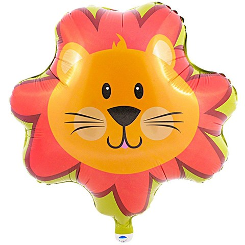 Safari Friends 1st Birthday Foil Balloon