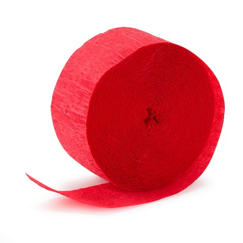 Holiday Red (Red) Crepe Paper