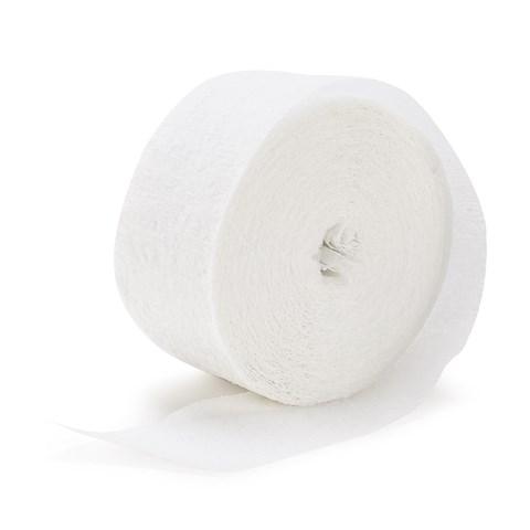Bright White (White) Crepe Paper