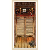 5' Saloon Door Cover