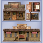 5' Wild West Town Props Wall Add-Ons