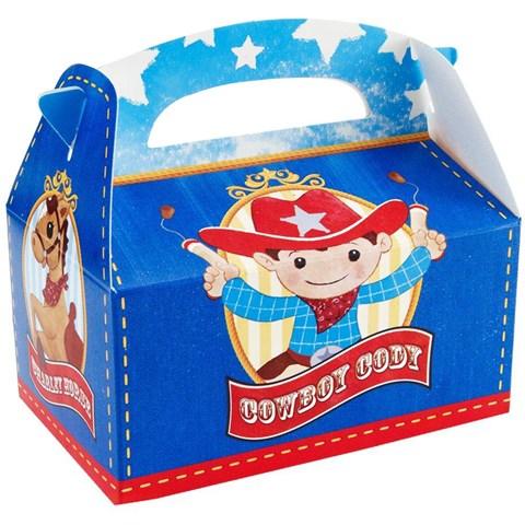 Cowboy Empty Favor Boxes