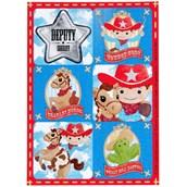 Cowboy Sticker Sheets