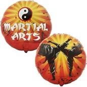 Martial Arts Foil Balloon