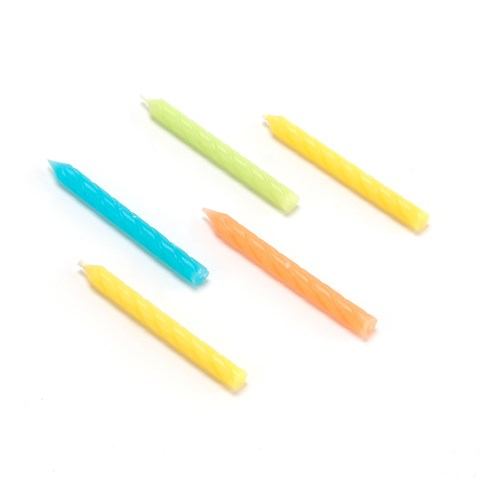 Classic Neon Candles