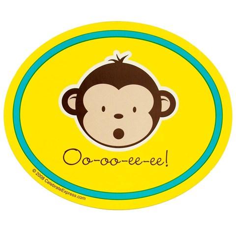 Mod Monkey Stickers