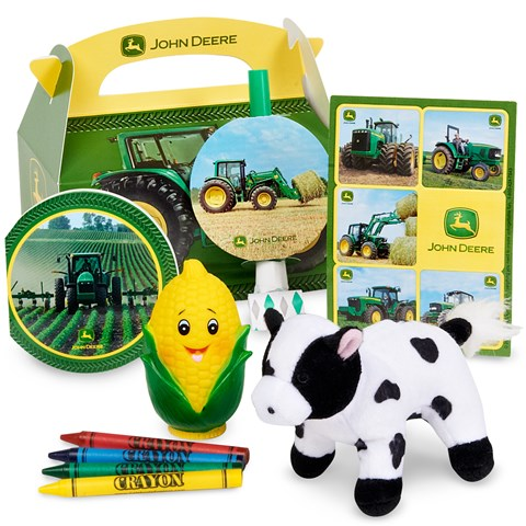 John Deere Party Favor Box