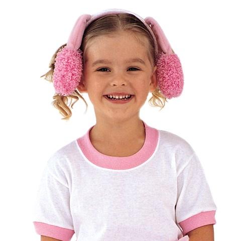 Pink Poodle Ears