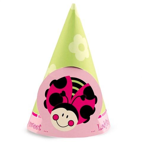Ladybugs: Oh So Sweet Cone Hats