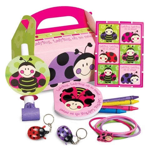 Ladybugs: Oh So Sweet Party Favor Box